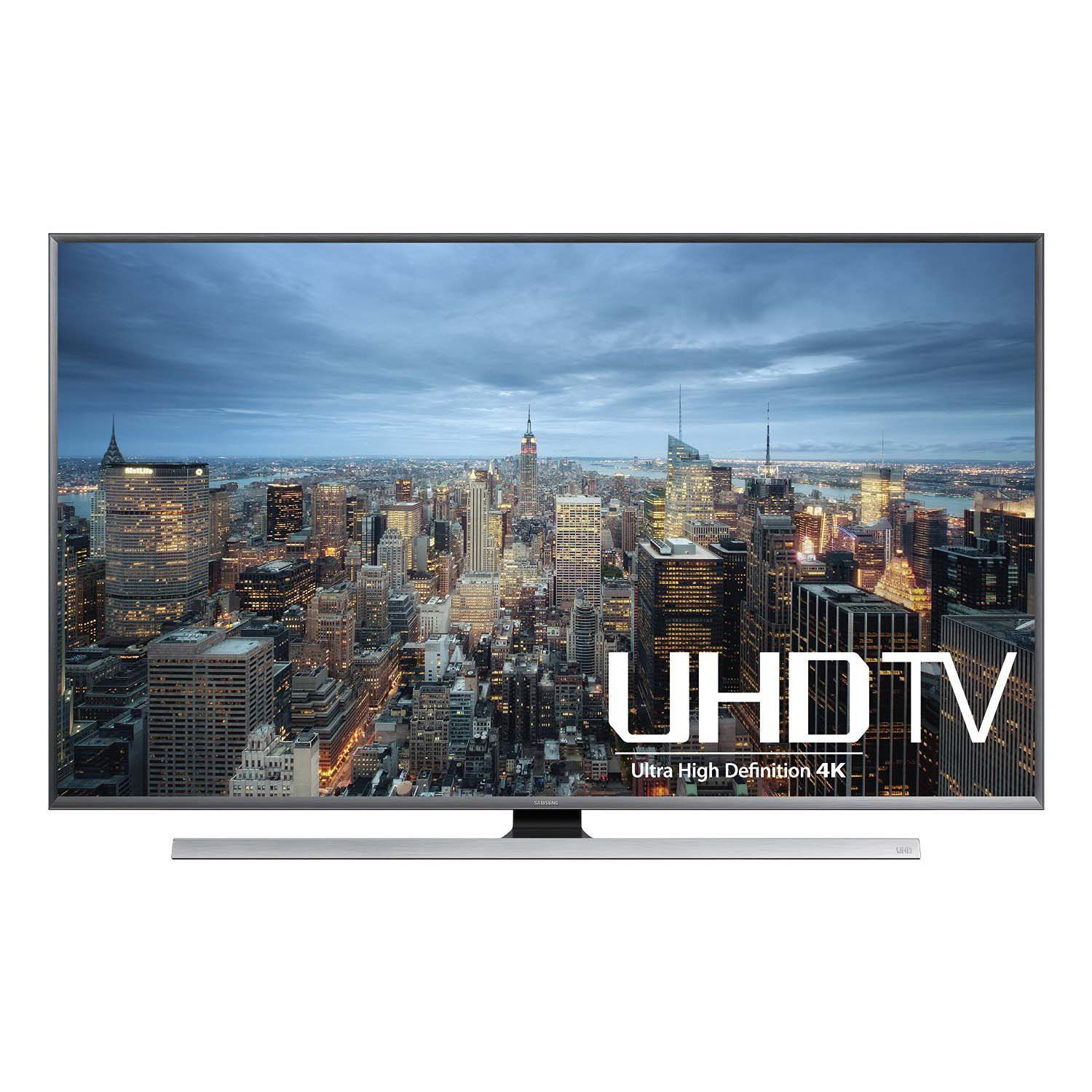 Samsung UN60JU7100 60-Inch 4K Ultra HD Smart LED TV (2015 Model) *관부가세 별도*